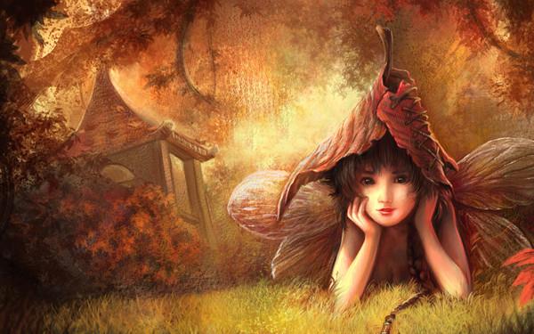 fond d'ecran gratuit elfes et fees