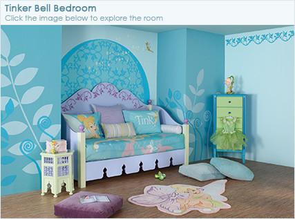chambre f e clochette. Black Bedroom Furniture Sets. Home Design Ideas